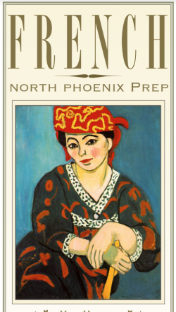 French brochure cover